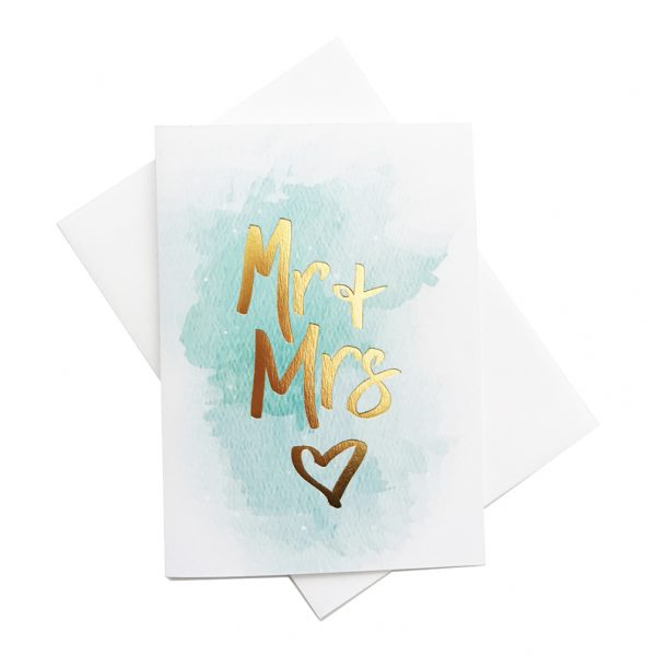 Mr & Mrs Gift card