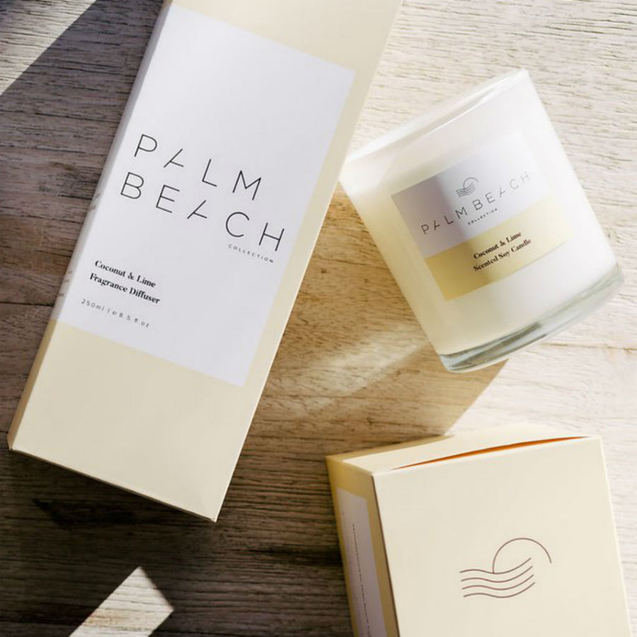Coconut & Lime Mini Candle 90g by Palm Beach