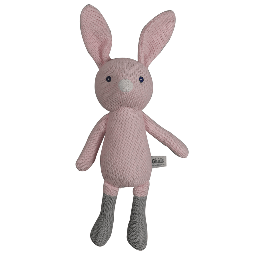 Pink Knitted Bunny by ES Kids