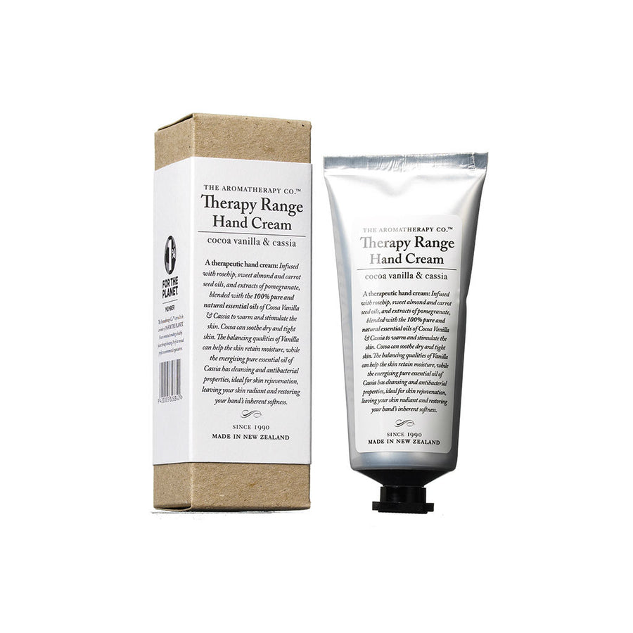 The Aromatherapy Co. Therapy Cocoa & Vanilla Cassia Hand Cream 75mL Tube