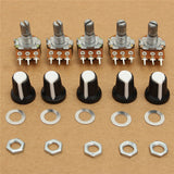 Rotary Potentiometer 10KΩ, Linear Taper, B Type, 3 Terminals, Qty: 5pcs, FREE SHIPPING