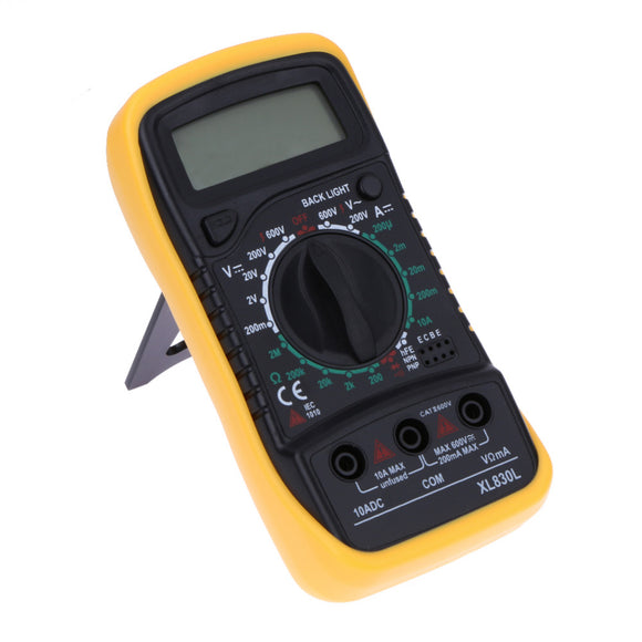 LCD Digital Multimeter XL830L, FREE SHIPPING