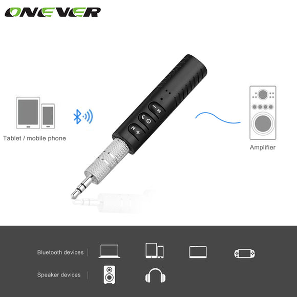 Bluetooth Ver 4.1, Audio Receiver Car Kit, 3.5mm Audio Jack, FREE SHIPPING
