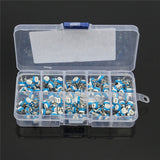 Carbon Film Potentiometer Kit, RM065 Horizontal, 10 Types(500Ω-1MΩ), Qty: 100pcs/box, FREE SHIPPING