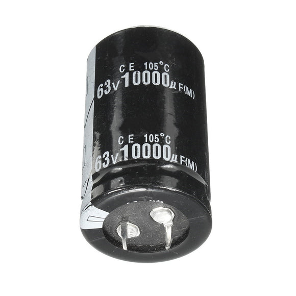 Electrolytic Capacitor 10,000uF/63V, 30mmX50mm, FREE SHIPPING