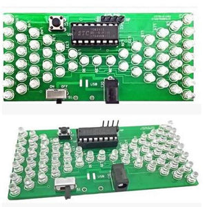 Electronic Hourglass DIY Kit, LEDs, FREE SHIPPING