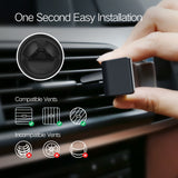 Car Phone Vent Holder, 3.5-6 Inches Phone, 360° Rotation, Soft Silicone, FREE SHIPPING