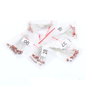 Light Dependent Resistor(LDR),  5 types X 10pcs, Qty: 50pcs