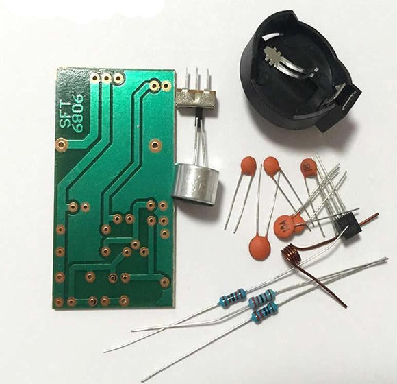 FM Wireless Microphone DIY Kit, 88MHz-108MHz, 3V, FREE SHIPPING