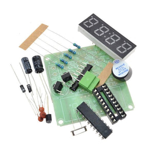 Electronic Clock DIY Kit, 7 Segment Display, FREE SHIPPING