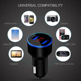 Dual USB Phone Car Charger, 5V/3.1A , FREE SHIPPING