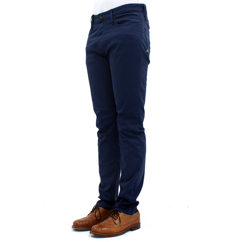 Denham Razor PSC  5 Pocket Chino Blue - Pilot Netclothing
