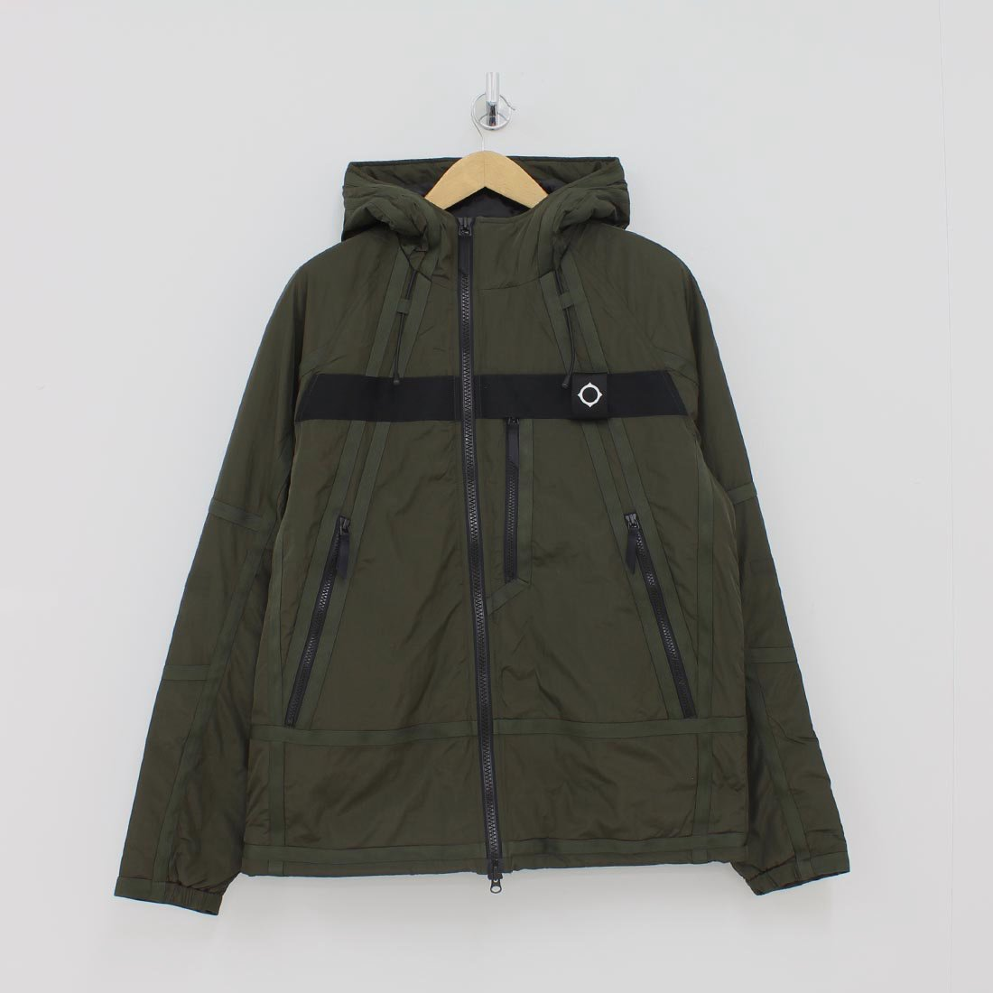Ma.Strum Compression Jacket Green