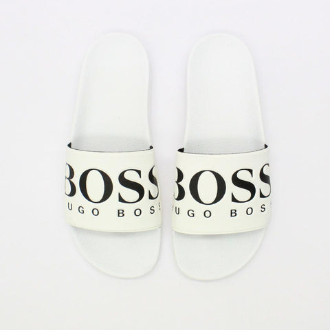 Hugo By Hugo Boss Solar Slide White - Pilot Netclothing