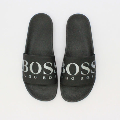 Hugo By Hugo Boss Solar Slide Black - Pilot Netclothing