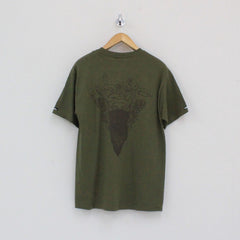 Crooks And Castles Mirror Crest T-Shirt Green