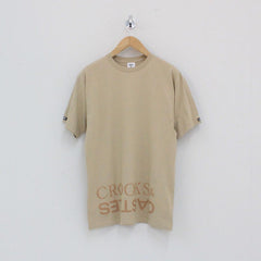 Crooks And Castles Switch T-Shirt Beige
