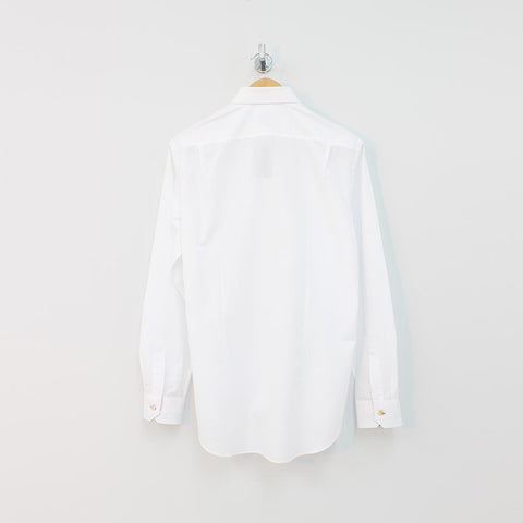 Paul Smith Mainline Slim Fit Shirt White - Pilot Netclothing