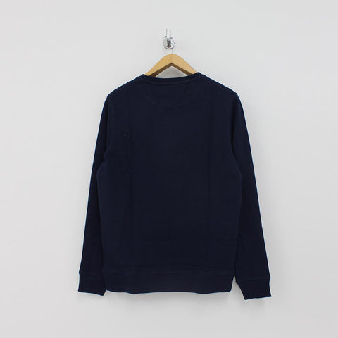 Tommy Hilfiger Front Print Sweat Shirt Navy - Pilot Netclothing