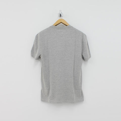 Tommy Hilfiger TJM Split T-Shirt Grey - Pilot Netclothing