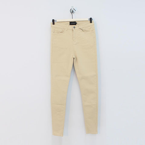 Sinners Attire Spray On Jeans Sand - Pilot Netclothing