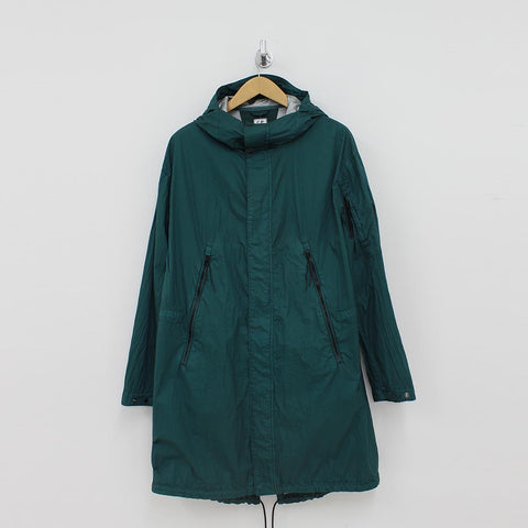 CP Company Long Jacket Green - Pilot Netclothing