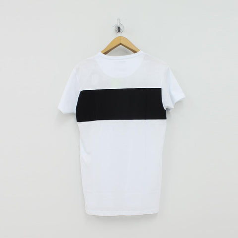 Fresh Couture Block T-Shirt White - Pilot Netclothing