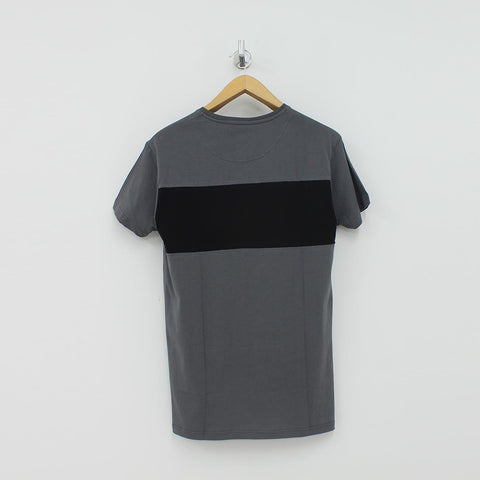 Fresh Couture Block T-Shirt Grey - Pilot Netclothing