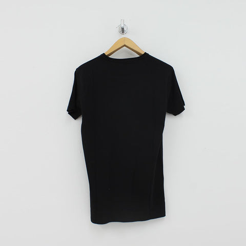 Fresh Couture Large Logo T-Shirt Black - Pilot Netclothing