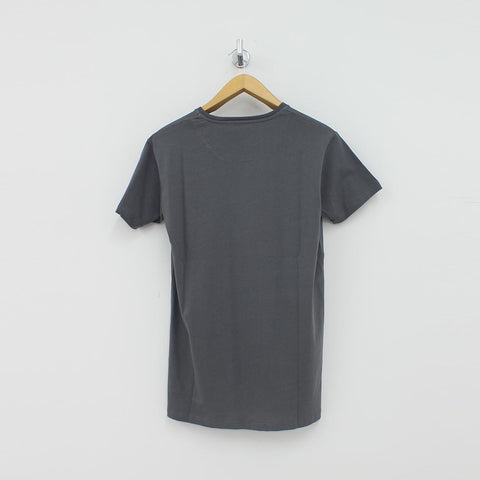 Fresh Couture Large Logo T-Shirt Grey - Pilot Netclothing