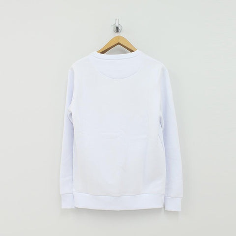 Fresh Couture Appliqué Sweat Shirt White - Pilot Netclothing