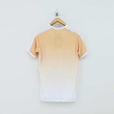 Sinners Attire Dip Dye Ringer T-Shirt Yellow - Pilot Netclothing