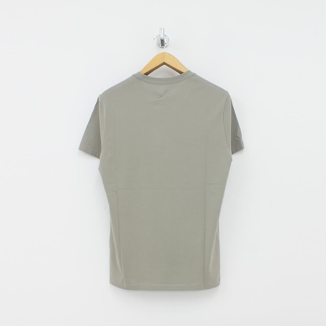 CP Company Square Logo T-Shirt Grey