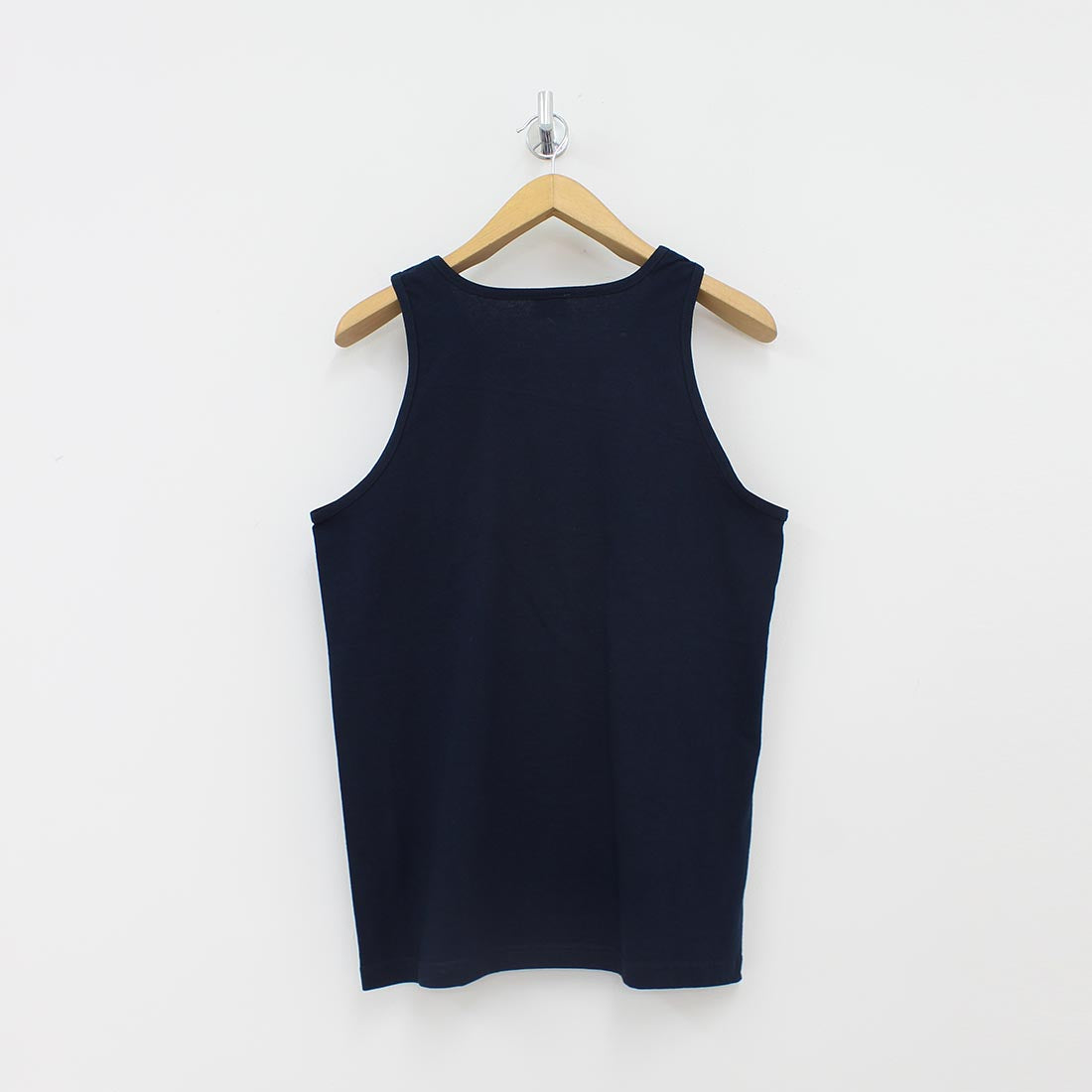 Crooks And Castles Script Tank Top Navy