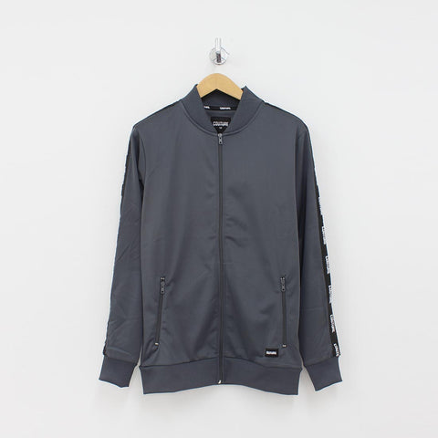 Fresh Couture Taped Arm Track Jacket Grey - Pilot Netclothing