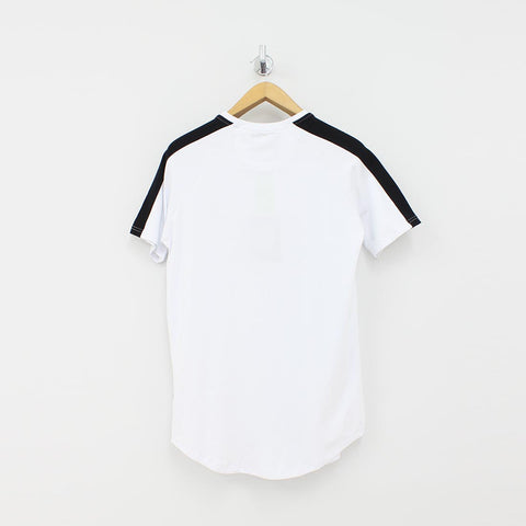 Sinners Attire Stripe Core T-Shirt White - Pilot Netclothing