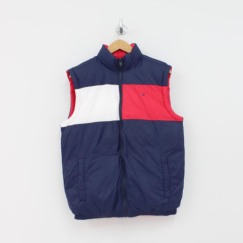 Tommy Hilfiger Reversible Gillet Navy - Pilot Netclothing