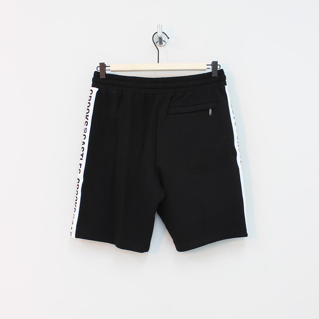 Crooks And Castles Side Line Shorts Black