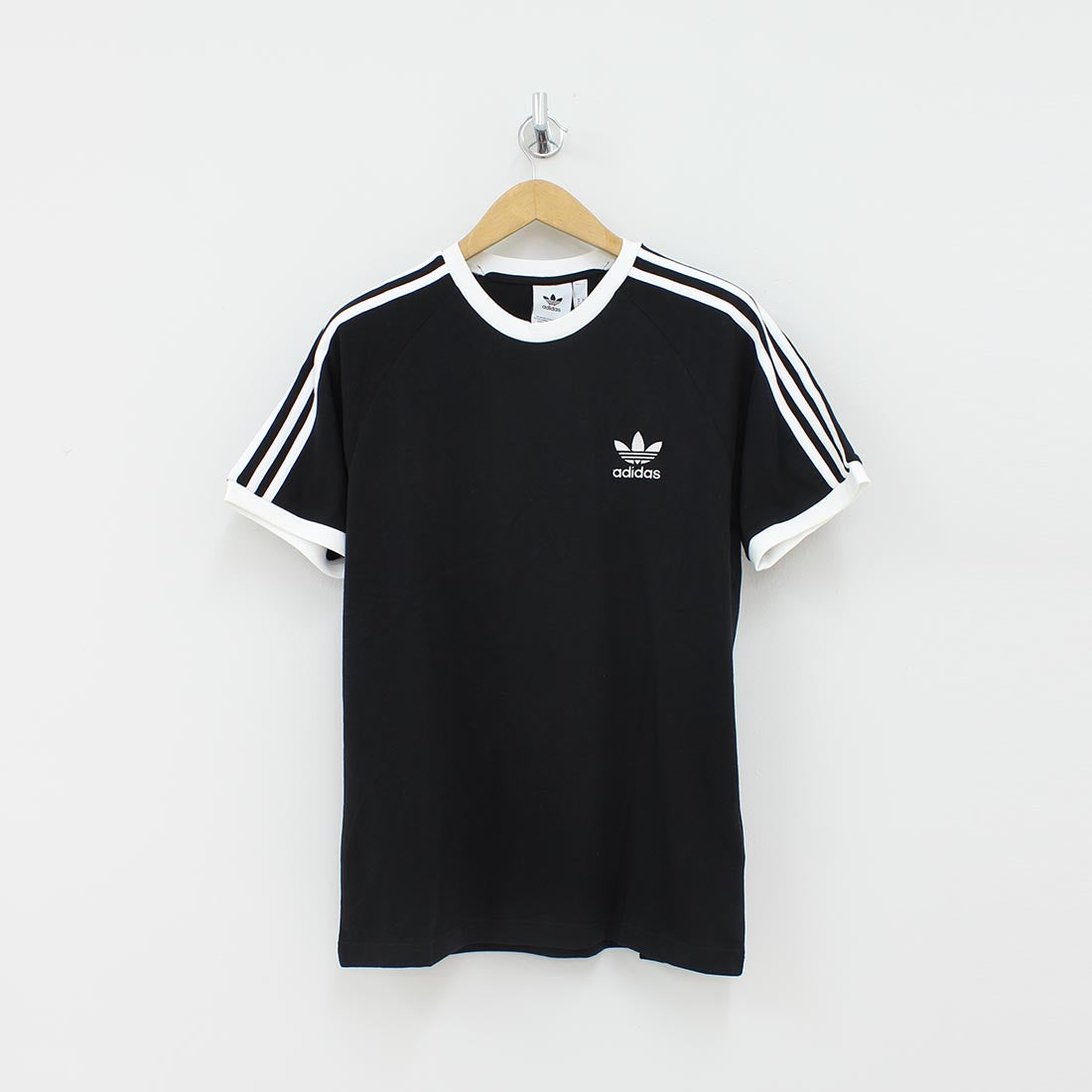 Adidas Originals Three Stripes T-Shirt Black