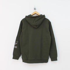 Adidas Originals Outline Hooded Top Green