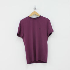 CP Company Hood Detail Re-Colour T-Shirt Purple
