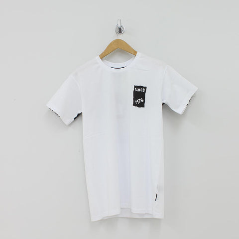 Boy London Tape T-Shirt White - Pilot Netclothing
