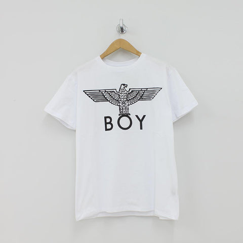 Boy London Eagle T-Shirt White - Pilot Netclothing
