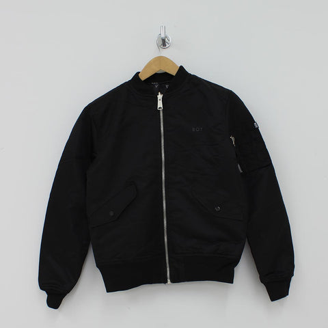 Boy London Reversible Bomber Jacket Black - Pilot Netclothing
