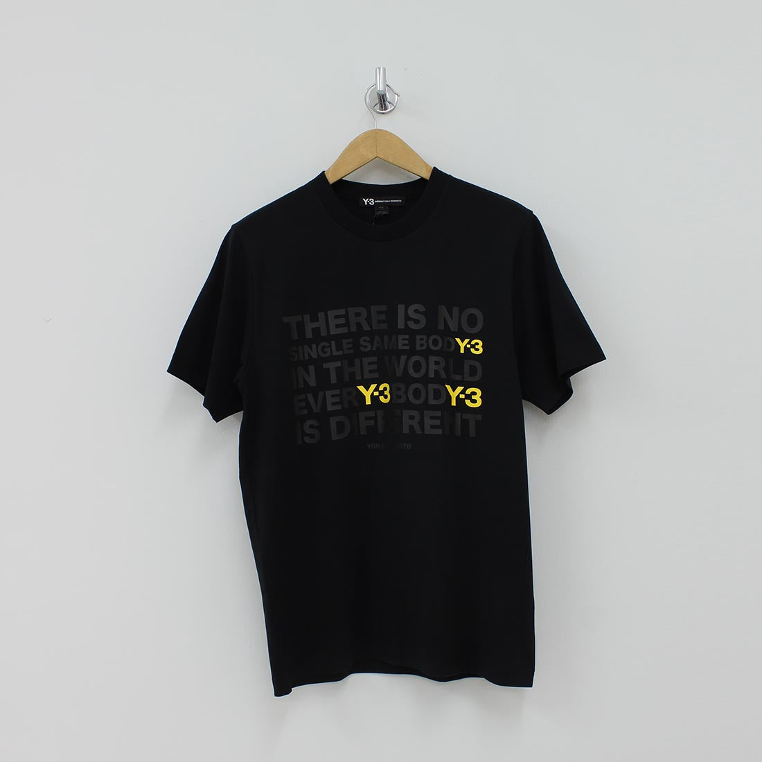 Adidas Y3 Art Work T-Shirt Black