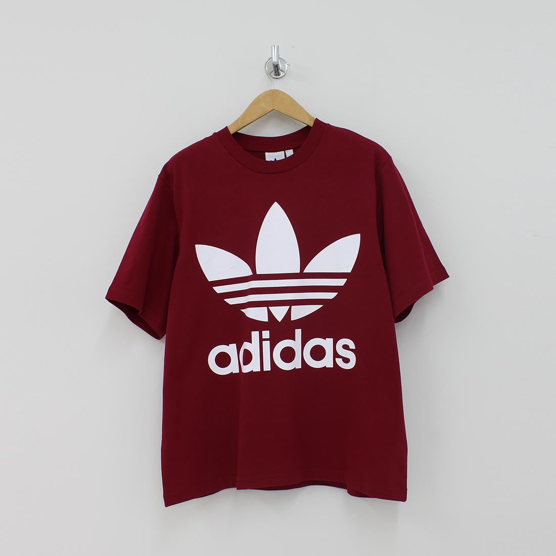 Adidas Originals Oversized T-Shirt Burgundy