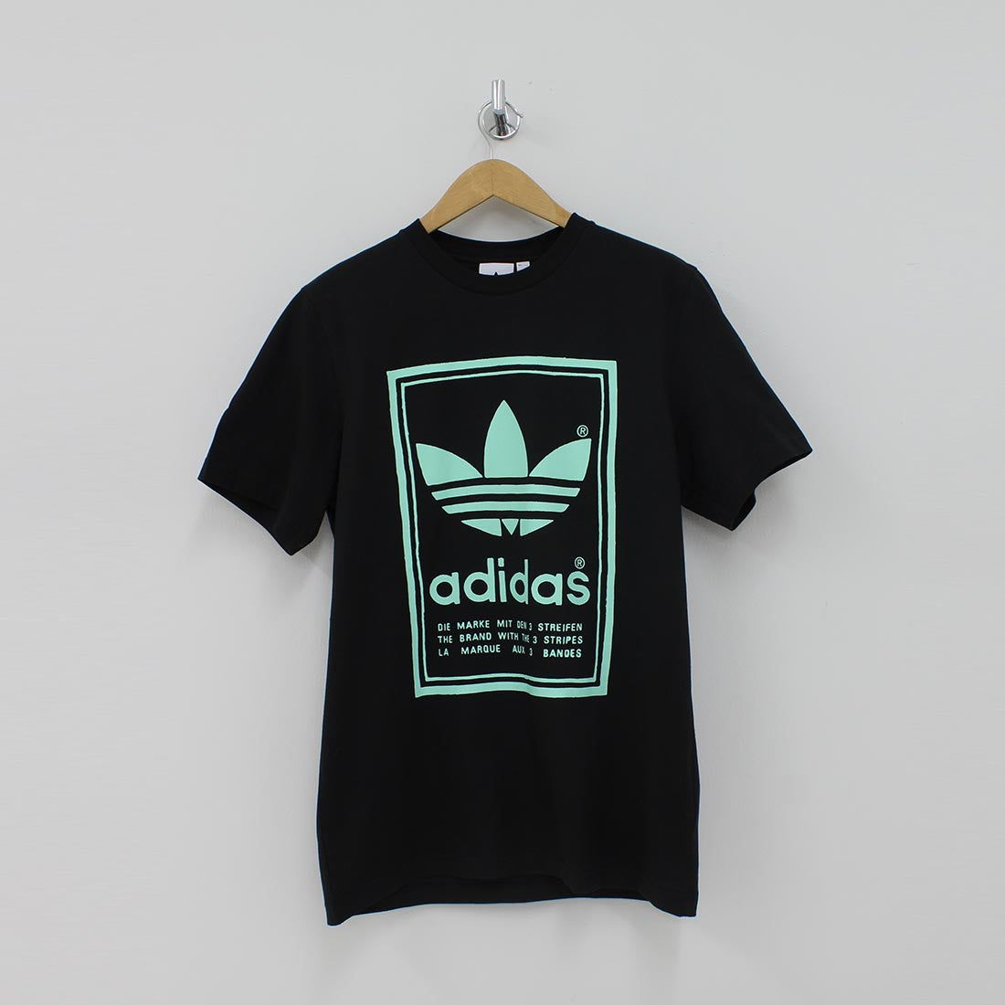 Adidas Originals Hand Drawn Logo T-Shirt Black