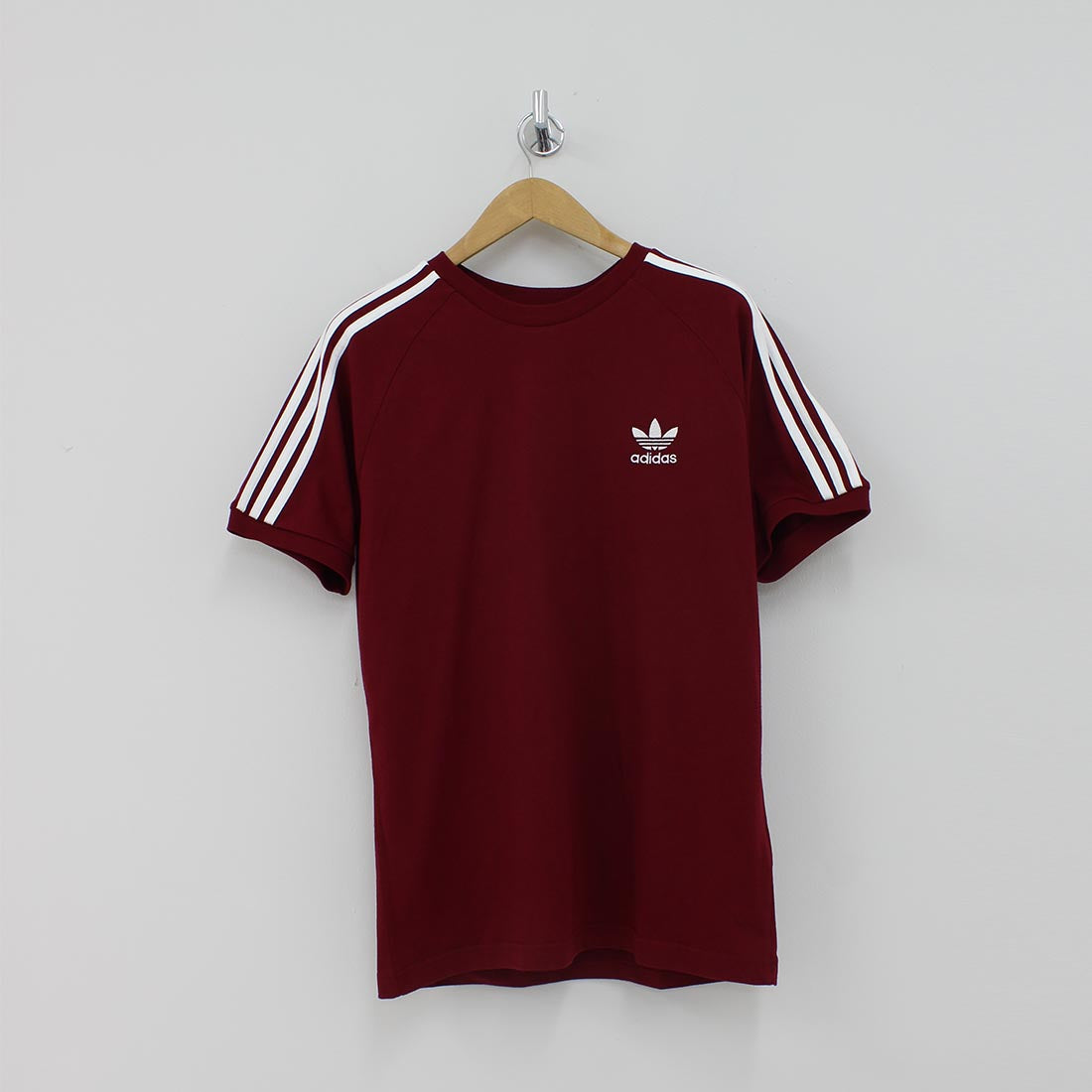 Adidas Originals Three Stripes Burgundy