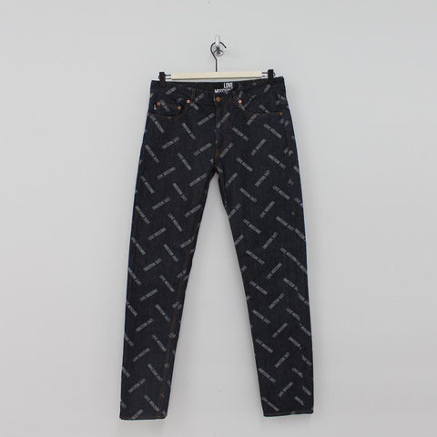 Moschino All Over Jeans Denim - Pilot Netclothing