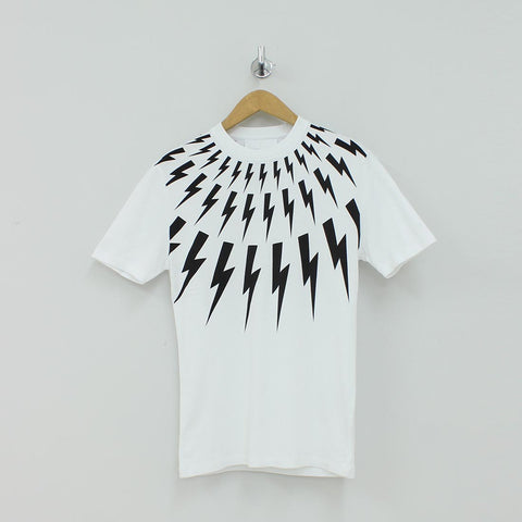 8305ed2f Neil Barrett Thunder Bolt T-Shirt White